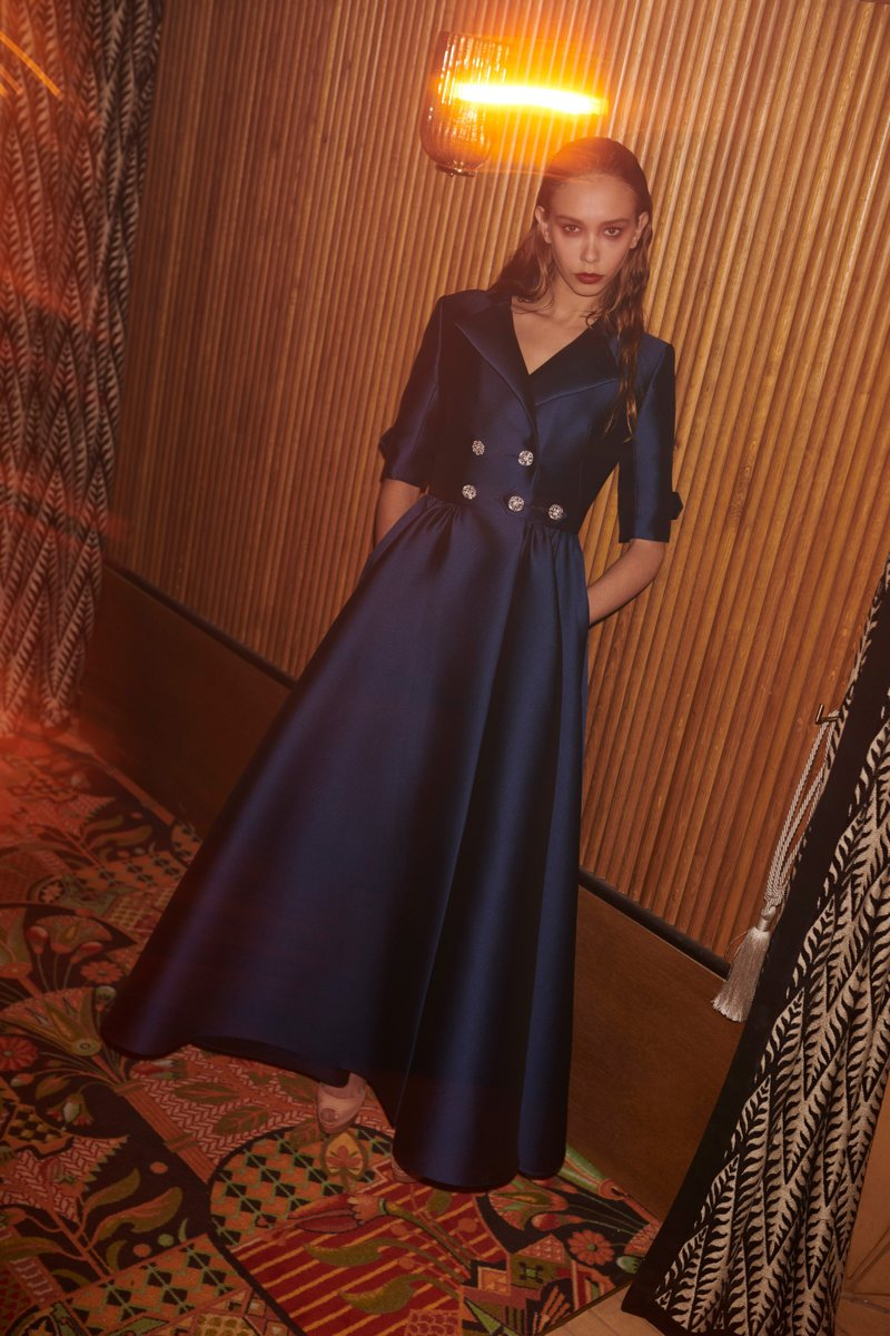 Blu - Alexis Mabille Ready-to-Wear Fall-Winter 2021