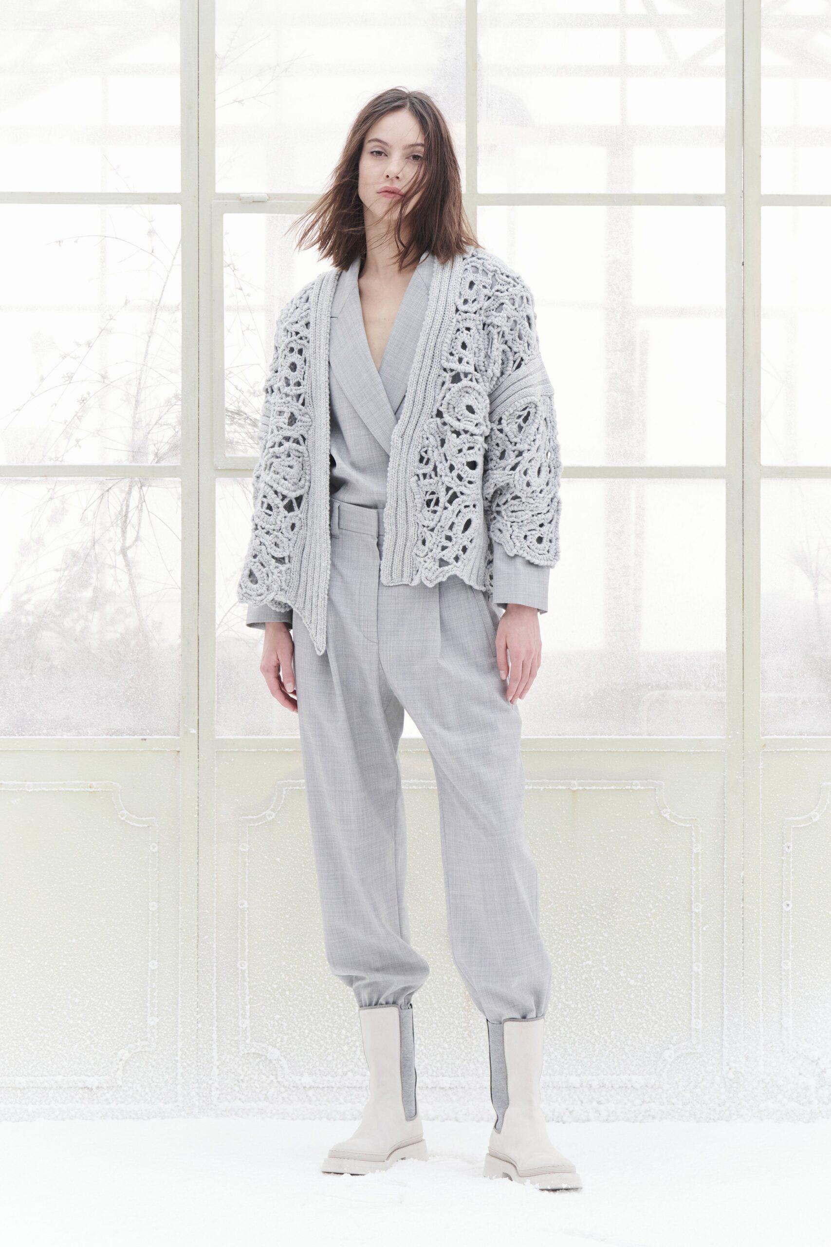 Grigio - Brunello Cucinelli Ready-to-wear autunno-inverno 2021-2022