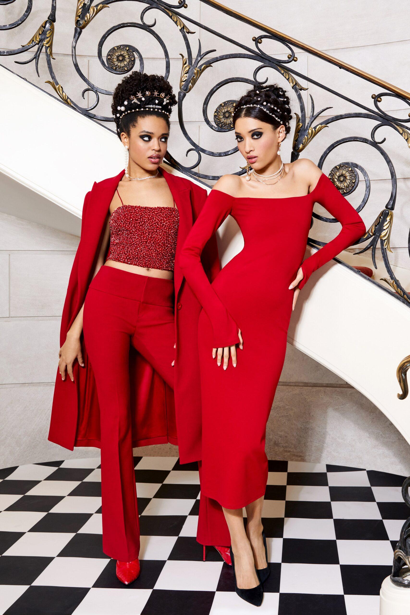 Rosso - Alice + Olivia Ready-to-Wear Fall Winter 2021
