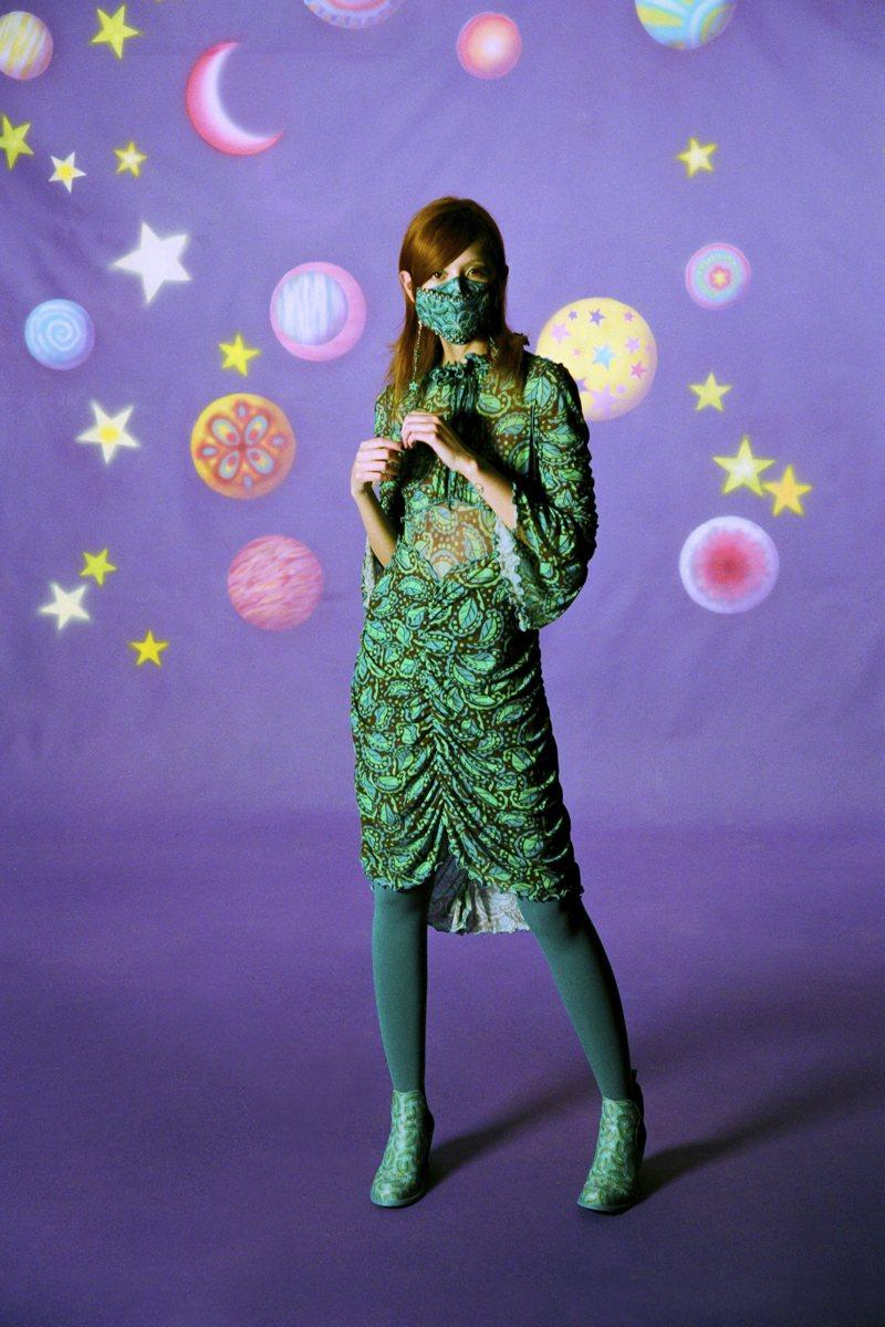 Verde Smeraldo - Anna Sui Ready-to-Wear Fall Winter 2021