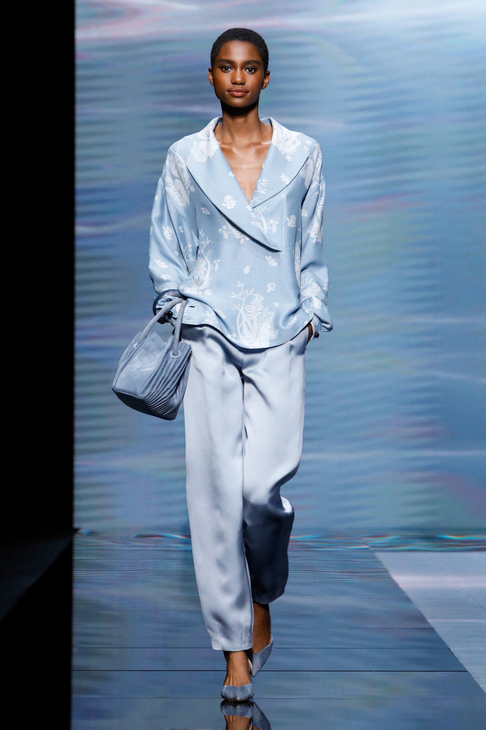 Blu Cielo - Giorgio Armani Ready-to-Wear Spring 2020