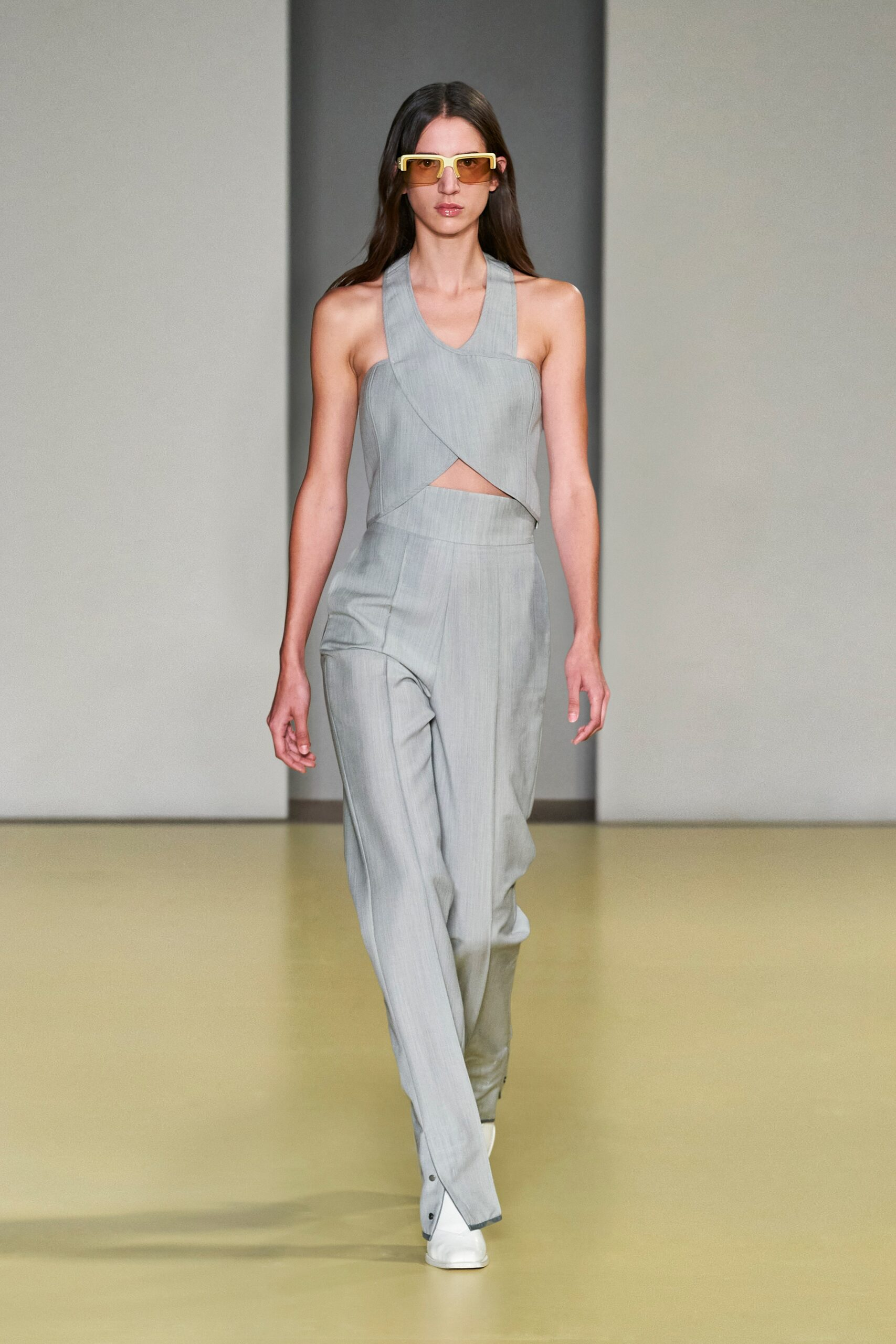 Grigio - Salvatore Ferragamo Ready-to-Wear Spring 2020