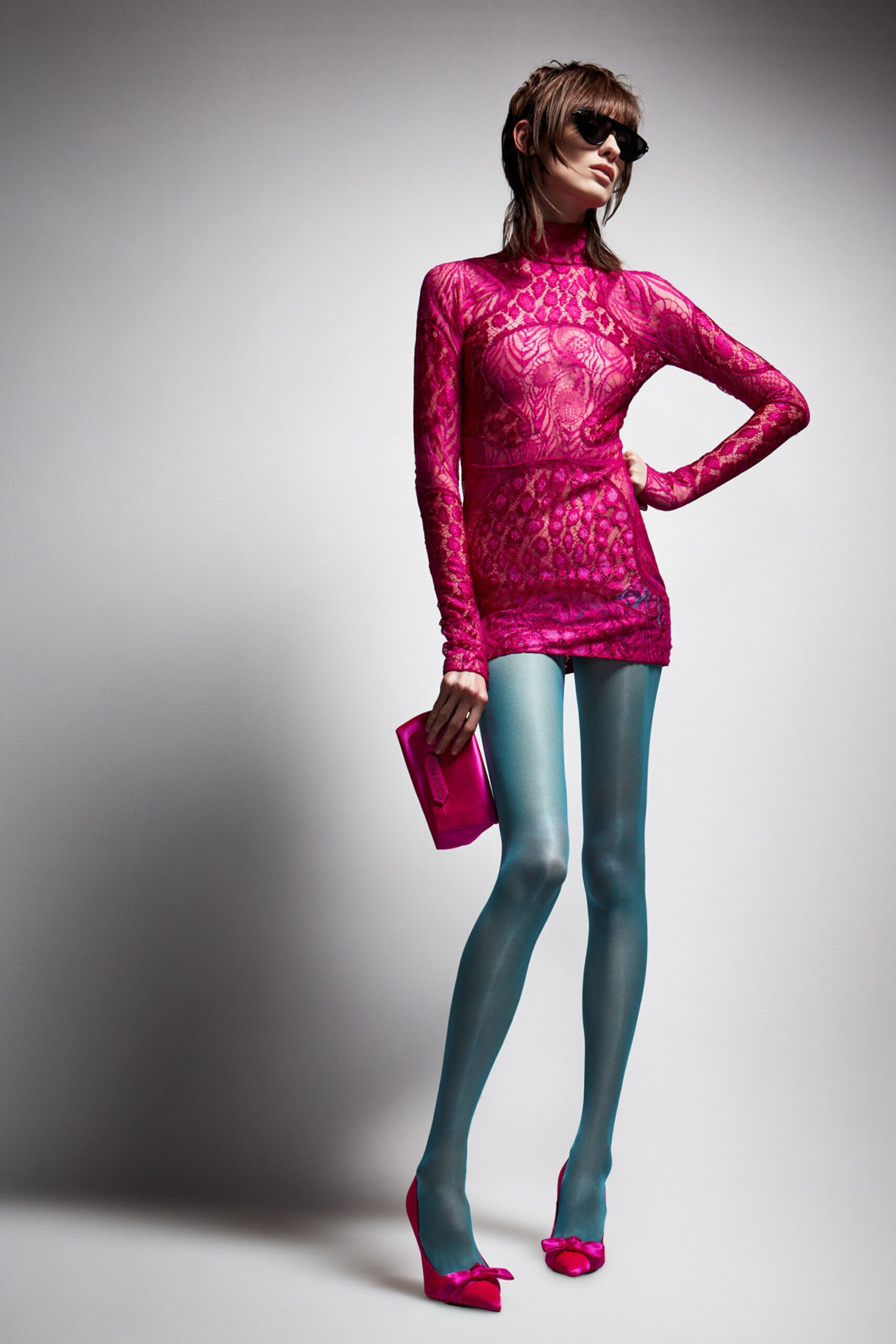 Fucsia - Tom Ford Ready-to-Wear Fall Winter 2021