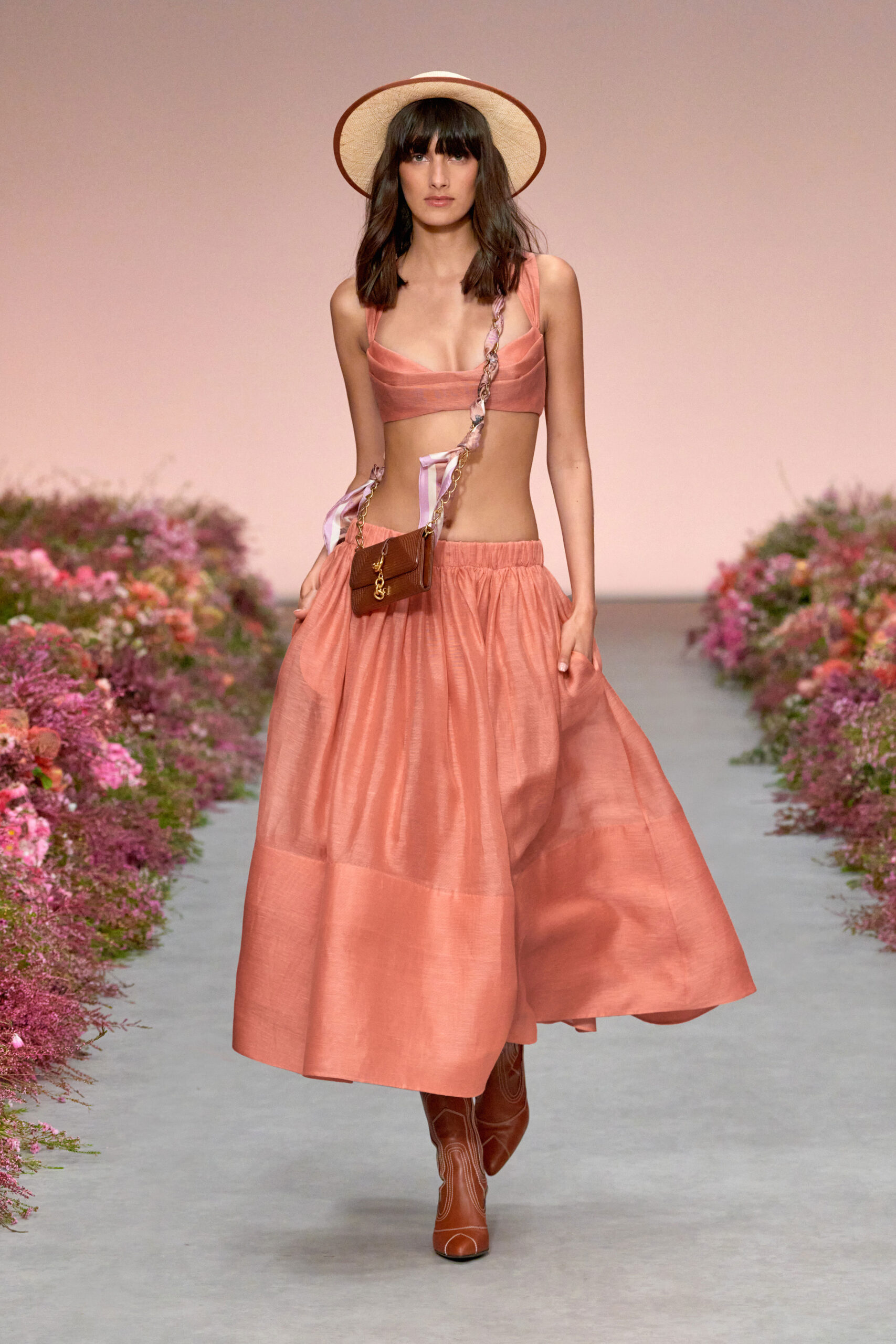 Rosa corallo - Nicky Zimmermann Ready-to-Wear Spring 2021