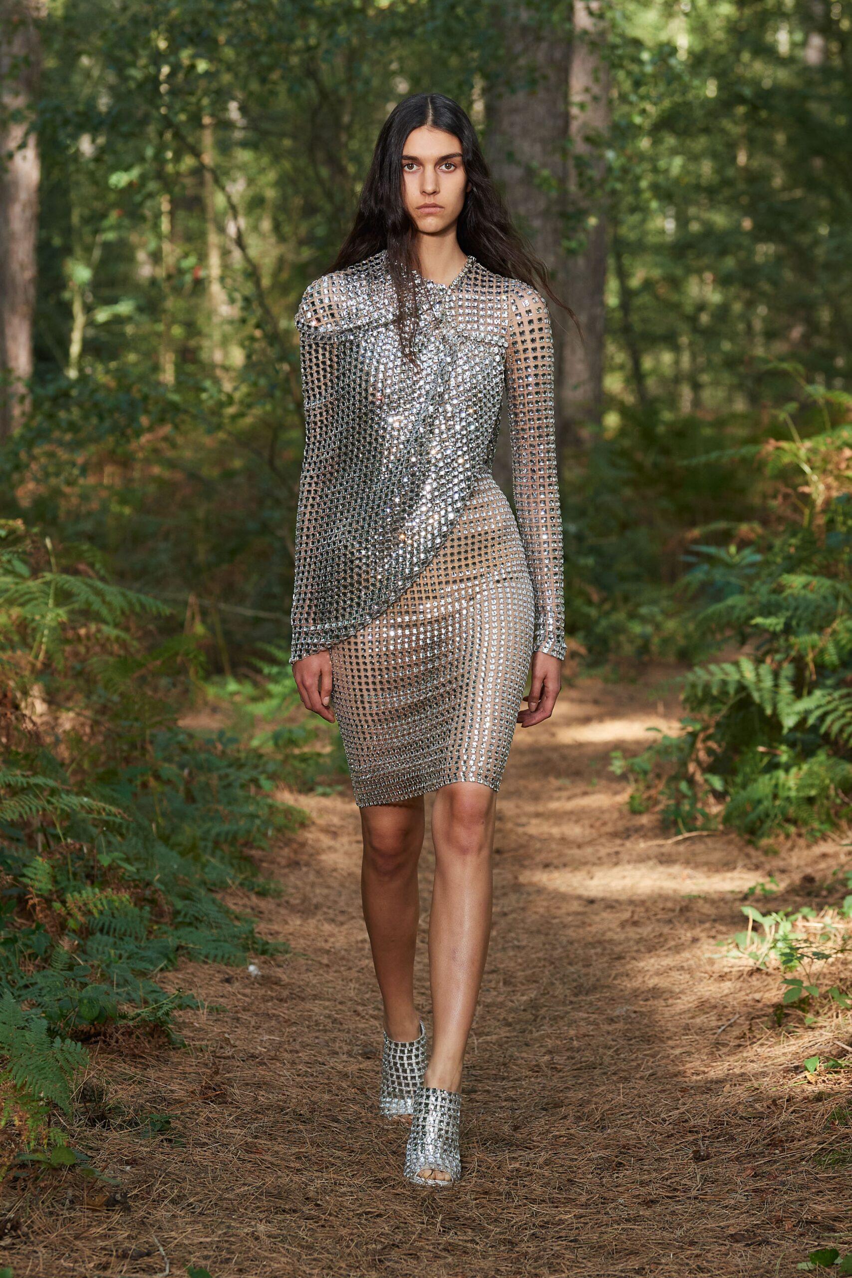 Oro e argento - Burberry Ready-to-Wear Spring 2020