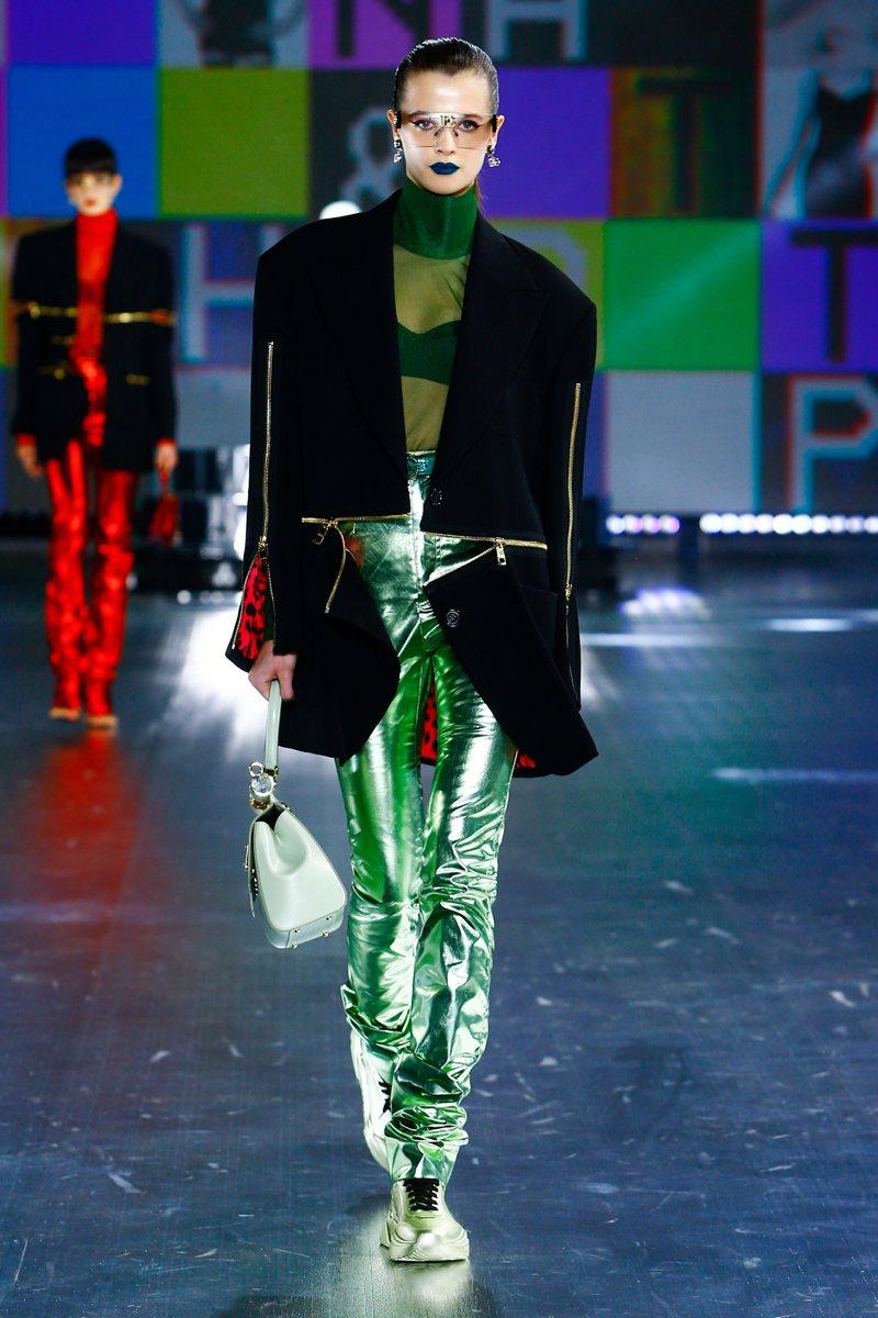 Verde Smeraldo - Dolce & Gabbana Ready-to-Wear Fall Winter 2021