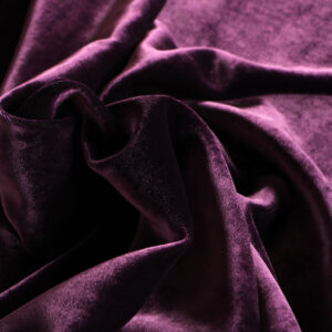 Purple Silk, Viscose Velvet fabric for Dress, Pants, Shirt, Skirt.