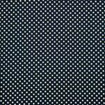 Blue, White Silk Polka Dot Fabric - Crepe Se Omnibus Pois 201102
