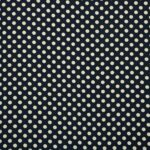 Blue, White Silk Polka Dot Fabric - Crepe Se Ominibus Maxi Pois 201102