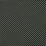 Tissu Crepe Se Omnibus Pois 201901 Blanc, Noir en Soie