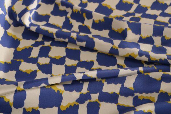 Top quality geometric fabrics for dressmaking | new tess