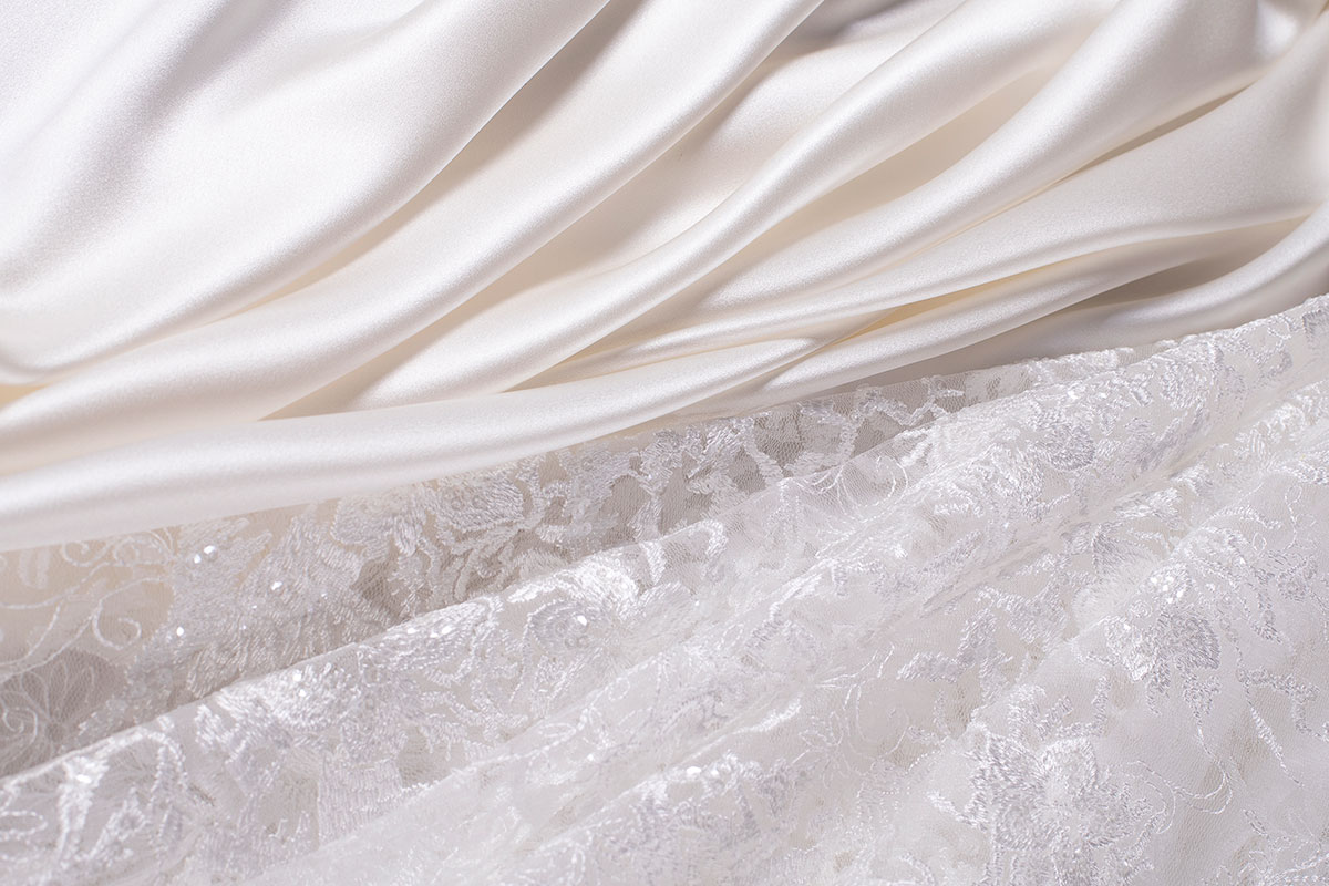 Bridal fabrics and laces | new tess