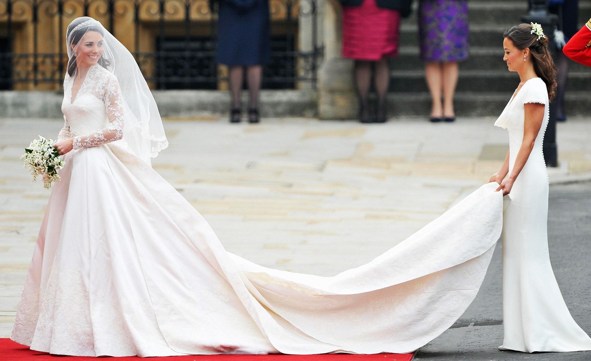 robe de mariée de Kate Middlelton