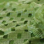 Tessuto Paillettes 000600 Verde in Poliestere