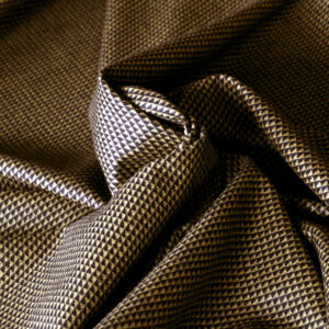 Black, Yellow Wool Fine Suit fabric for Dress, Jacket, Pants, Skirt.