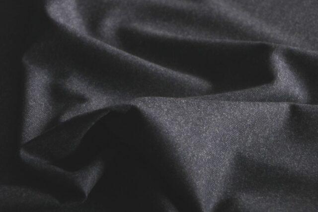 Tessuto Drapperia Flanella Blu in Lana per Abito, Giacca, Gonna, Pantalone.
