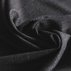 Blue Silk, Wool Fine Suit fabric for Jacket, Pants, Skirt.