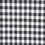 Tissu Tissus pour costumes Tartan Flanelle Blanc, Noir en Laine pour Jupe, Pantalon, Robe, Veste.