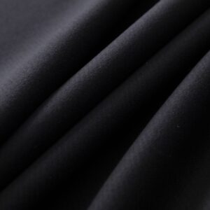 Black Wool Coat fabric for Coat.