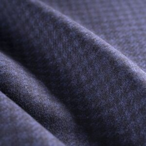 Black, Blue Wool Tartan Coat fabric for Coat.