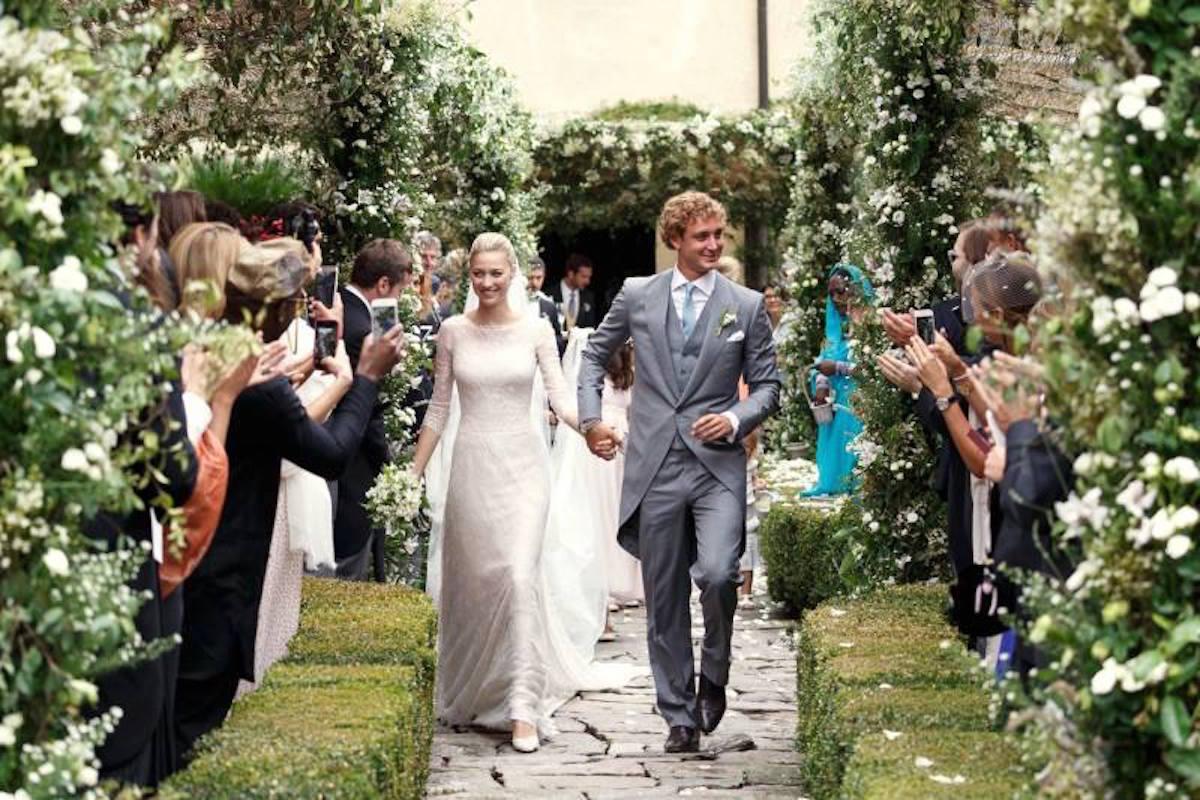 wedding dress of Beatrice Borromeo