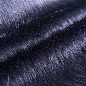 Tessuto Cappotto Blu in Cotone, Poliestere per Cappotto.