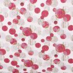 Tessuto a grandi pois in popeline di cotone stampato   new tess