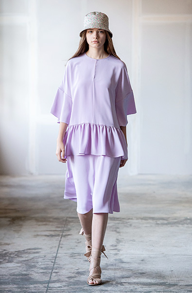 Lavender - Adam Lippes Ready-to-Wear Spring 2020