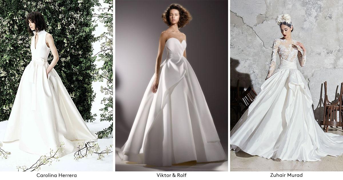 Spring 2020 Wedding Dress Trends