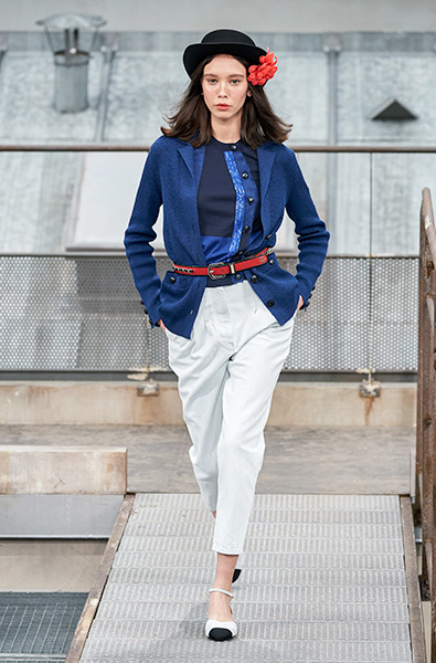 classic Blue - Chanel Ready-to-Wear Spring 2020