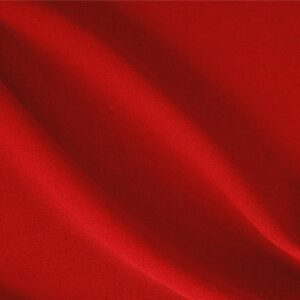 Fire Red Wool Crêpe Plain fabric for Dress, Jacket, Light Coat, Pants, Skirt.
