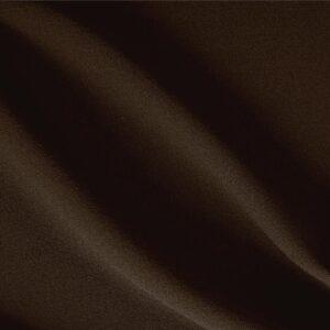 Testa Di Moro Brown Wool Crêpe Plain fabric for Dress, Jacket, Light Coat, Pants, Skirt.
