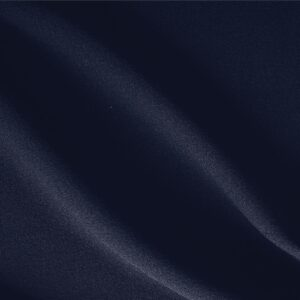 Notte Blue Wool Crêpe Plain fabric for Dress, Jacket, Light Coat, Pants, Skirt.