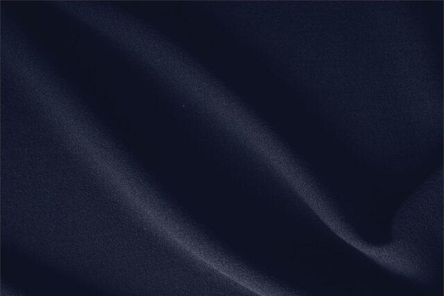 Tessuto Unito Crepella di Lana Blu Notte in per Abito, Giacca, Gonna, Pantalone, Spolverino.