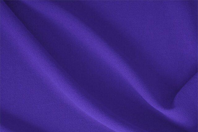 Petunia Purple Wool Crêpe Plain fabric for Dress, Jacket, Light Coat, Pants, Skirt.
