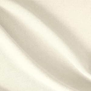 Latte White Wool Crêpe Plain fabric for Dress, Jacket, Light Coat, Pants, Skirt.