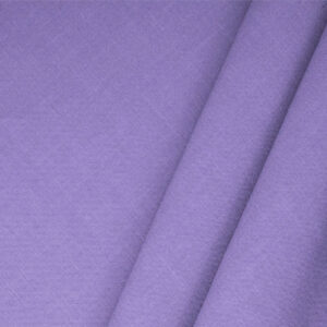 Lilla Purple Linen Blend Plain fabric for Dress, Jacket, Light Coat, Pants, Skirt.