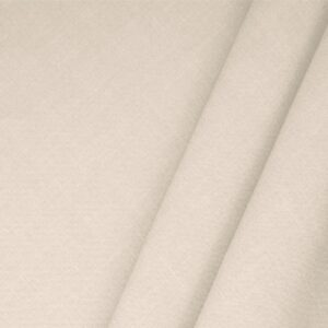 Powder Pink Linen Blend Plain fabric for Dress, Jacket, Light Coat, Pants, Skirt.