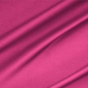 Fuxia Lightweight cotton sateen stretch Plain fabric for Dress, Jacket, Light Coat, Pants, Skirt.