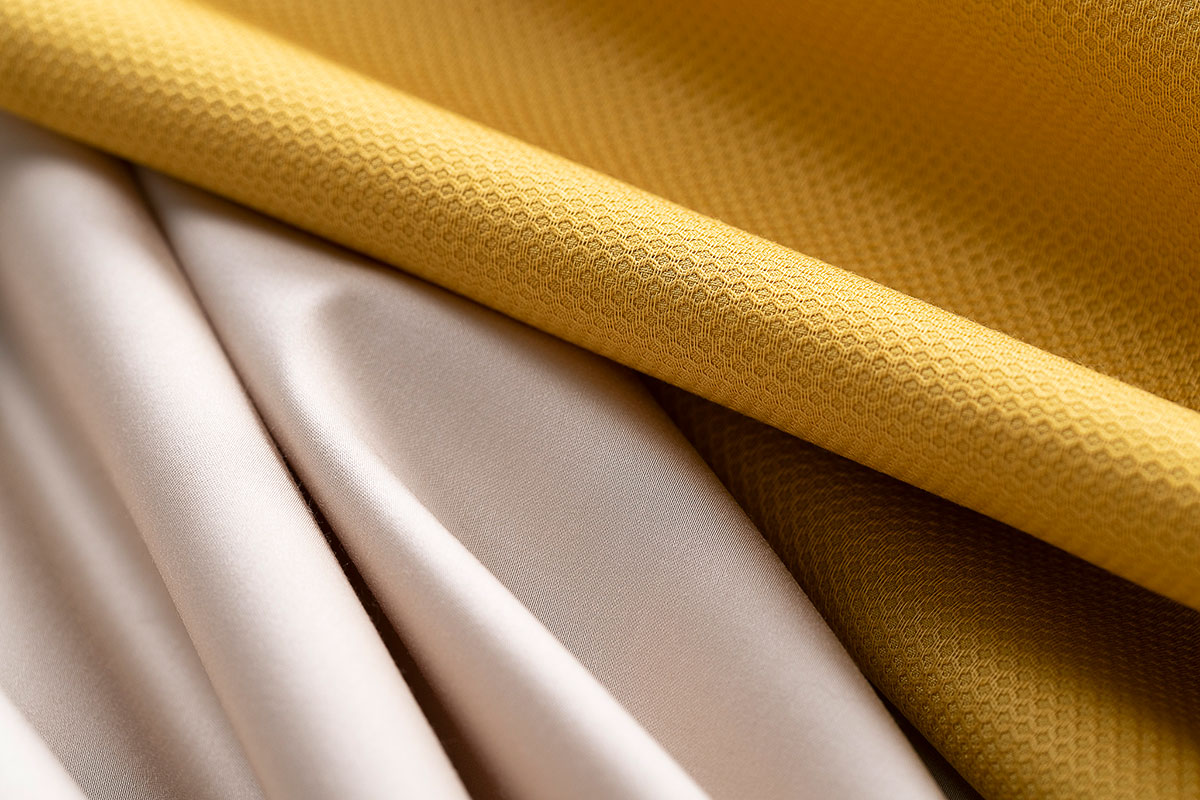 Cotton sateen and cotton pique fabrics for dressmaking and fashion | new tess