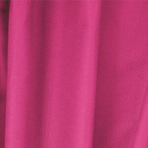 Fuxia Cotton, Stretch Pique Stretch Plain fabric for Dress, Jacket, Light Coat, Pants, Skirt.