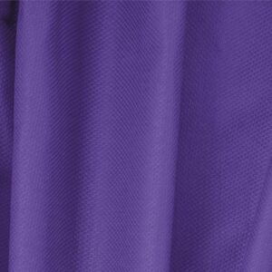 Iris Purple Cotton, Stretch Pique Stretch Plain fabric for Dress, Jacket, Light Coat, Pants, Skirt.