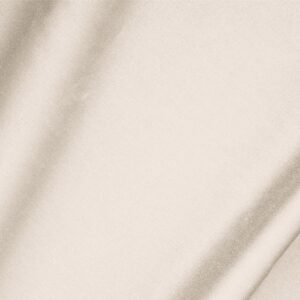 Ecru Beige Cotton sateen stretch Plain fabric for Dress, Jacket, Light Coat, Pants, Skirt.