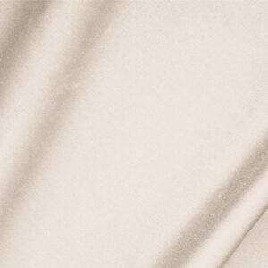 Tessuto Unito Raso di Cotone Stretch Beige Ecru in Cotone, Stretch per Abito, Giacca, Gonna, Pantalone, Spolverino.