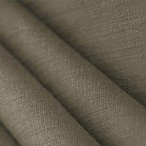 Tissu Uni Toile de lin Marron kaki en pour Chemise, Jupe, Pantalon, Robe, Veste.