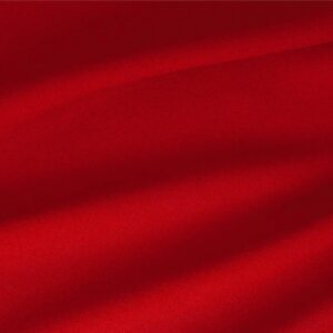 Fuoco Red Wool Stretch Plain fabric for Dress, Jacket, Light Coat, Pants, Skirt.