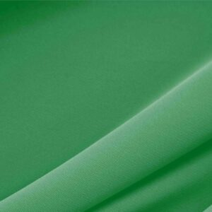 Bandiera Green Polyester Heavy Microfiber Plain fabric for Dress, Jacket, Light Coat, Pants, Skirt.