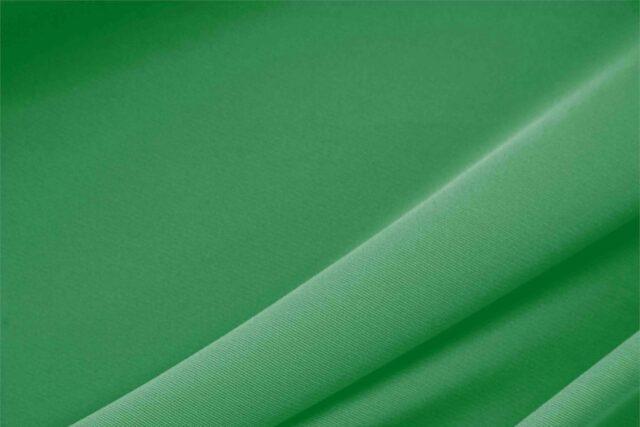 Tissu microfibre lourde en polyester verte pour vêtements