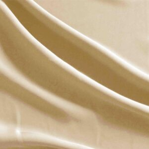 Desert sand Brown Polyester Smooth Microfiber Plain fabric for Dress, Jacket, Light Coat, Pants, Skirt.