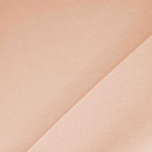 Dusty rose Pink Polyester Crêpe Microfiber Plain fabric for Dress, Jacket, Light Coat, Pants, Skirt.